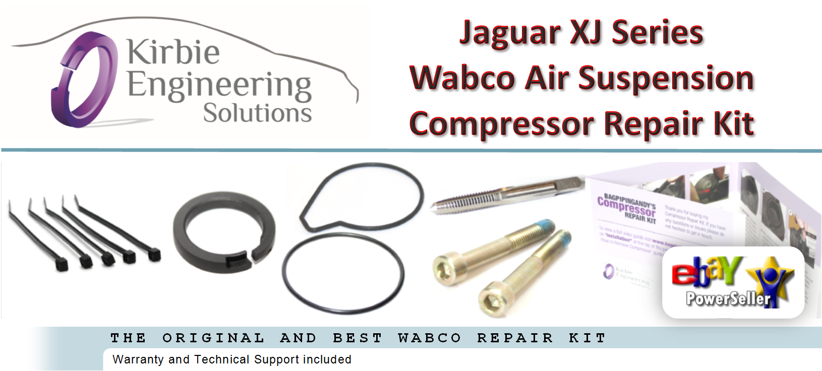 jaguar xj6 xj8 xjr 350 x suspension pneumatique compresseur pompe joint ebay. Black Bedroom Furniture Sets. Home Design Ideas